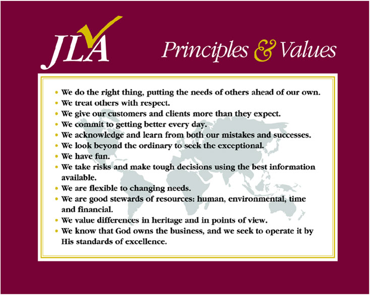 Our Principles and Values